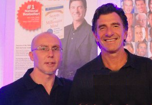 Darren Wagstaff with T Harv Eker